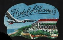 CollectableHotel label luggage labels pretty art scarce #175